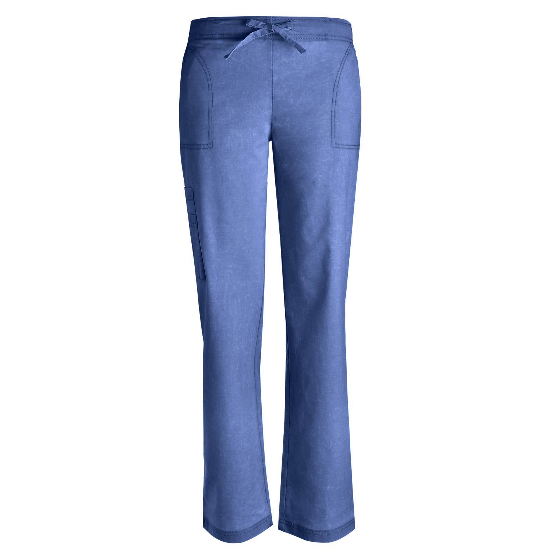Pandamed V Neck Nursing Women Scrubs Set Doctor Uniform Slim Scrub Top and Pants