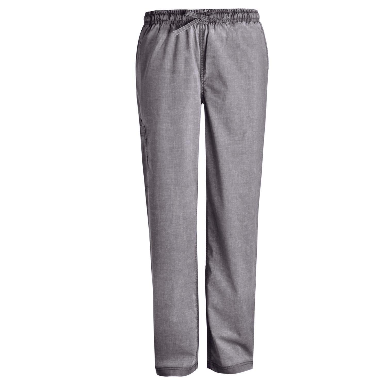 New Women/'s Nursing Pants Scrubs Medical Natural Uniforms Doctor Comfy Trousers